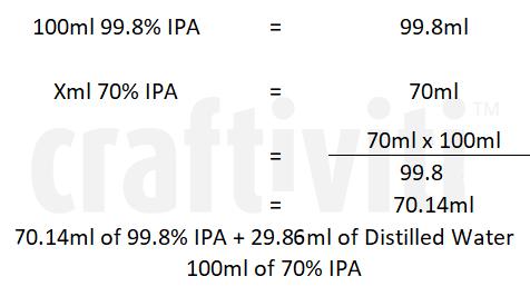 diluting IPA by Craftiviti 2