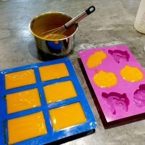 Cold Process Dish Soap Bar Using Premium Extra Red Palm Oil Craftiviti (13)